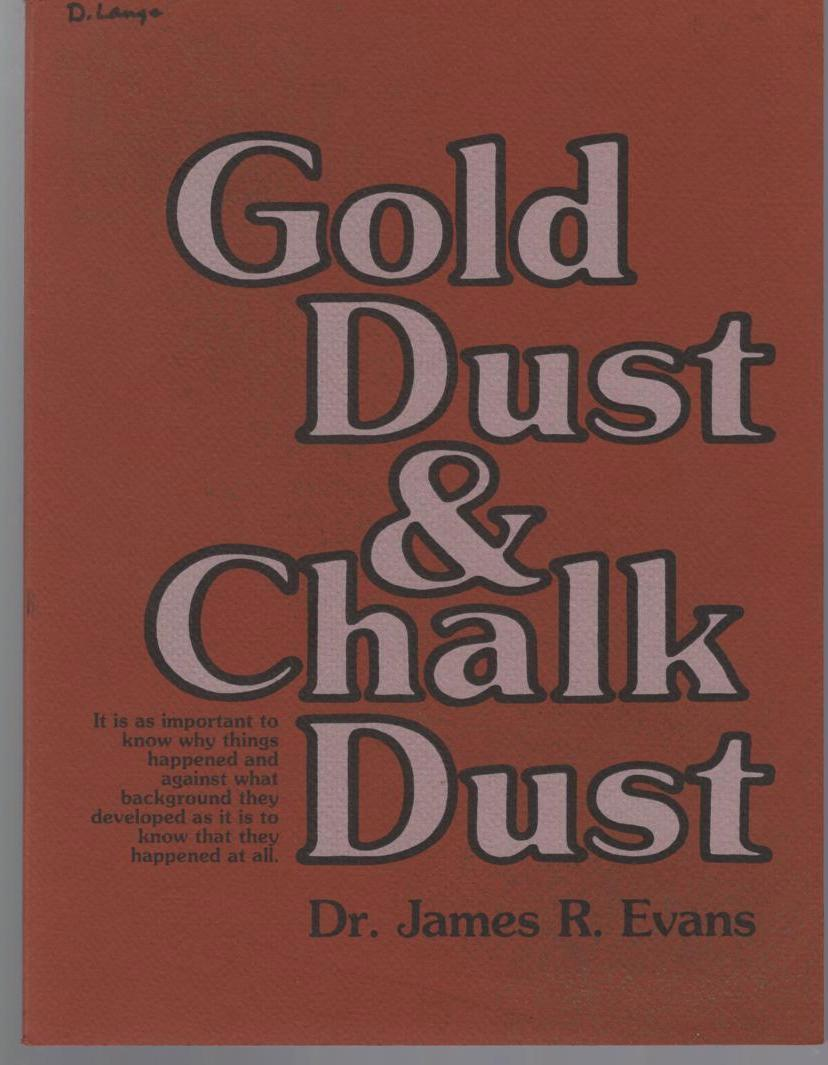Image for Gold Dust & Chalk Dust