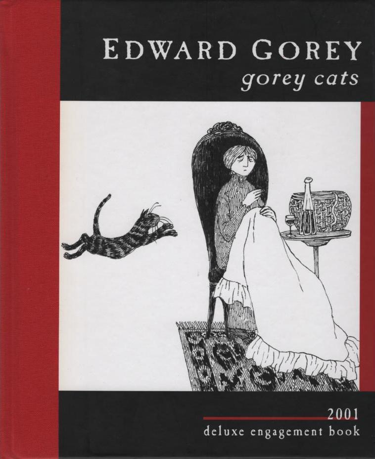 Image for Edward Gorey Cats 2001 Engagement Book