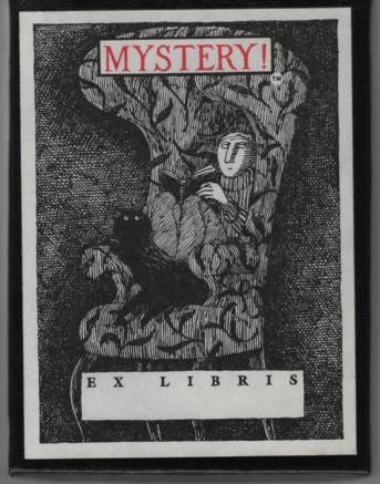 Image for Mystery Bookplates ( Boxed Set )