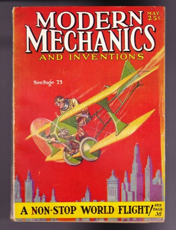 Image for Modern Mechanics and Inventions, May 1929, Vol. II, No. 1