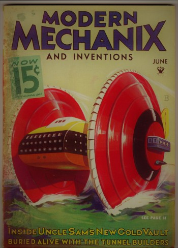 Image for Modern Mechanix and Inventions, June 1934, Volume XII, No. 2.