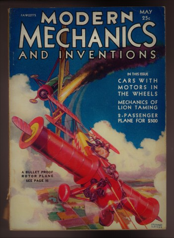Image for Modern Mechanix and Inventions, May 1931, Volume VI, No. 1.