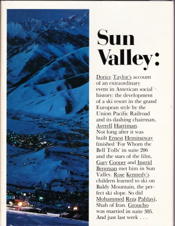 Image for Sun Valley