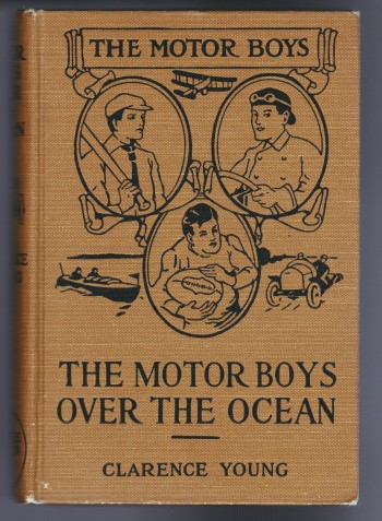 Image for The Motor Boys Over the Ocean or A Marvelkous Rescue in Mid-Air