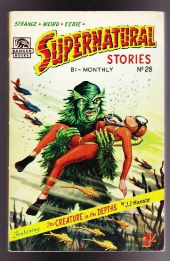 Image for Supernatural Stories No. 28