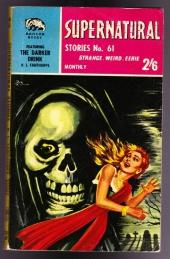 Image for Supernatural Stories No. 61