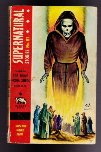 Image for Supernatural Stories No. 81