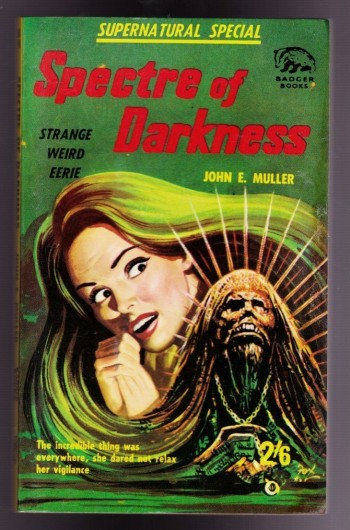 Image for Spectre of Darkness (Supernatural Stories No. 98)