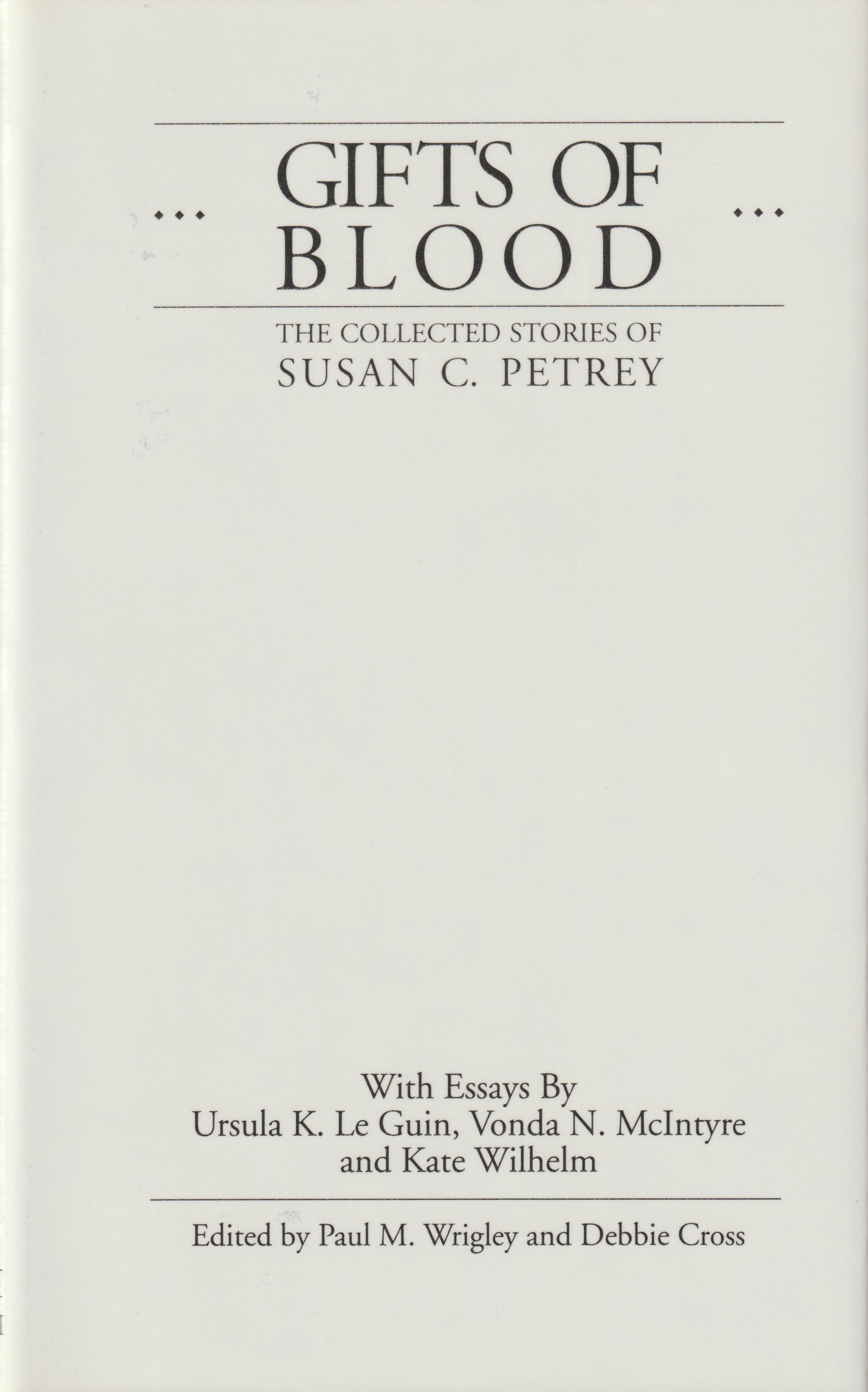 Image for Gifts of Blood