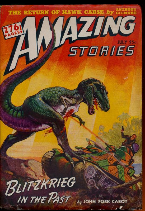 Image for Amazing Stories, July 1942