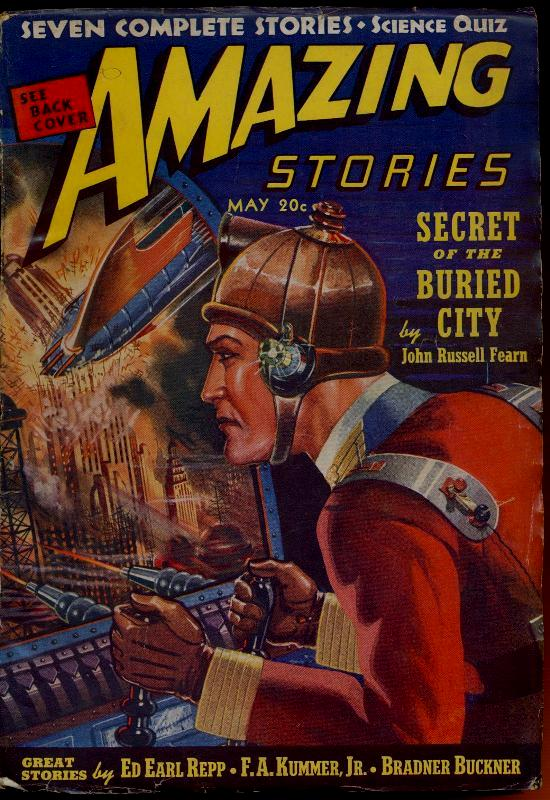 Image for Amazing Stories, May 1939